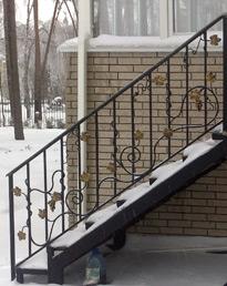 Лестничные ограждения и перила из нержавейки | Glass