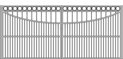 E автоматические ворота