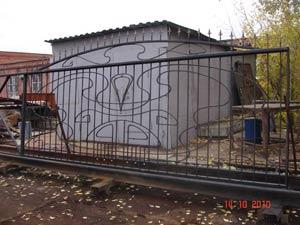 Откатные ворота ЦЕНТРОСВАР